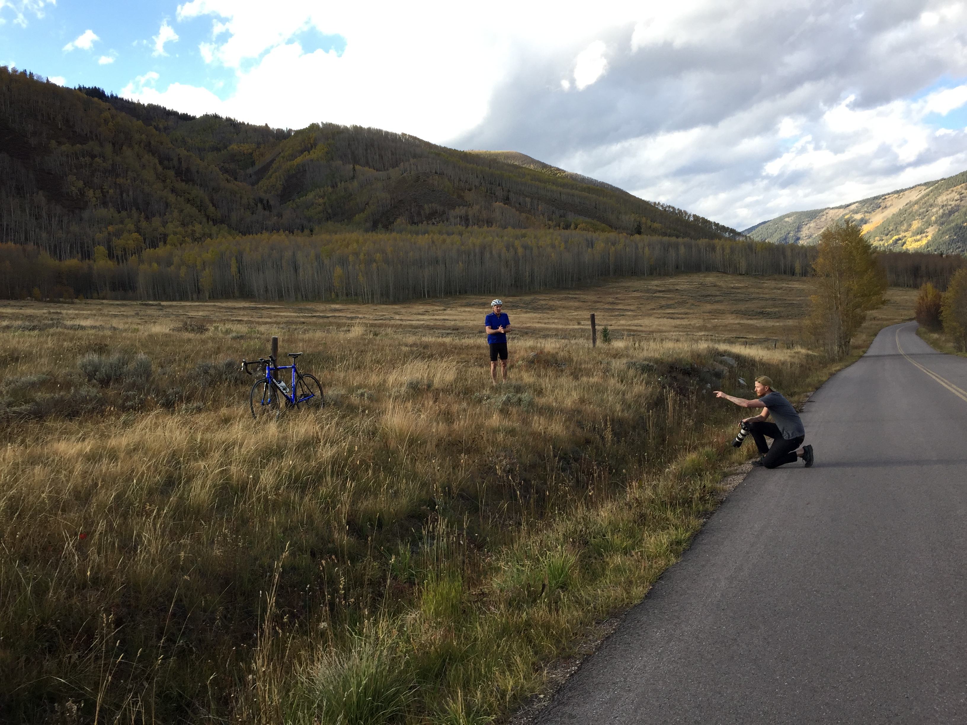 Fall Cycling BTS